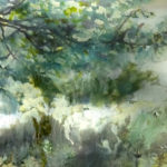 impressionist-tree-detail-green-ketubah-oil-painting